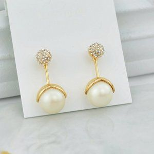 Kate Spade Fine Pearl Zircon Earrings